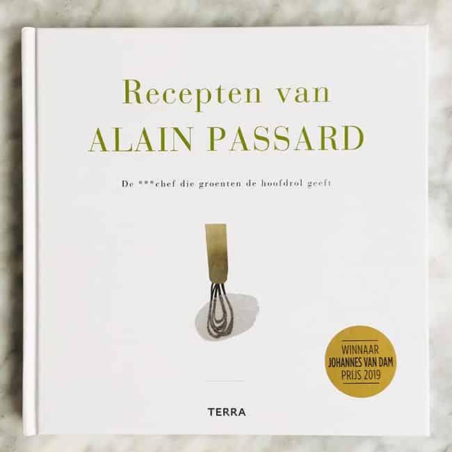 Recepten van Alain Passard kookboek