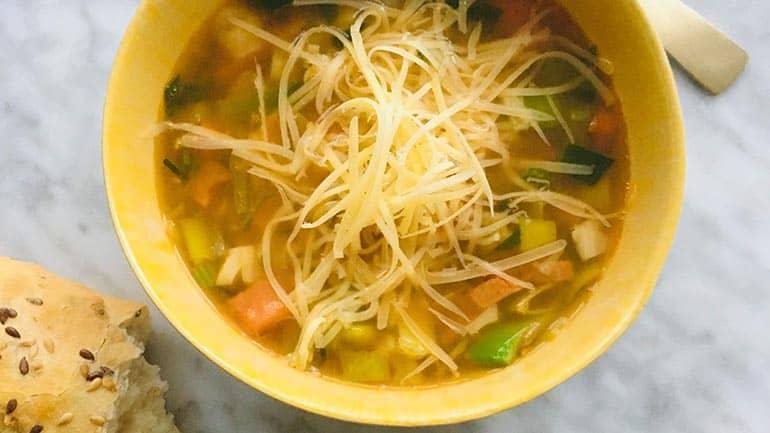 Herfst groentensoep recept