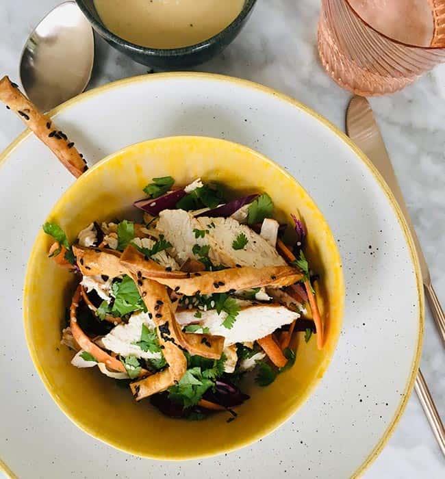Salade van kalkoen recept