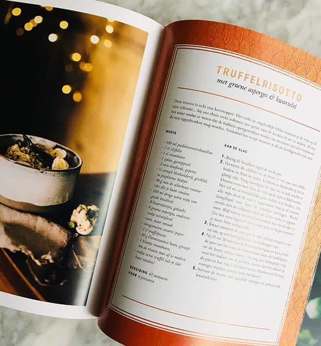 Truffelrisotto kerstkookboek