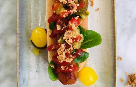 Vegan hotdog recept