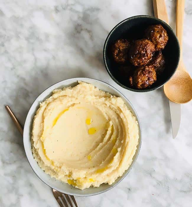 Knolselderijpuree simpel recept