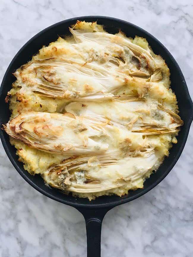 Witlof ovenschotel met bloemkool simpel recept
