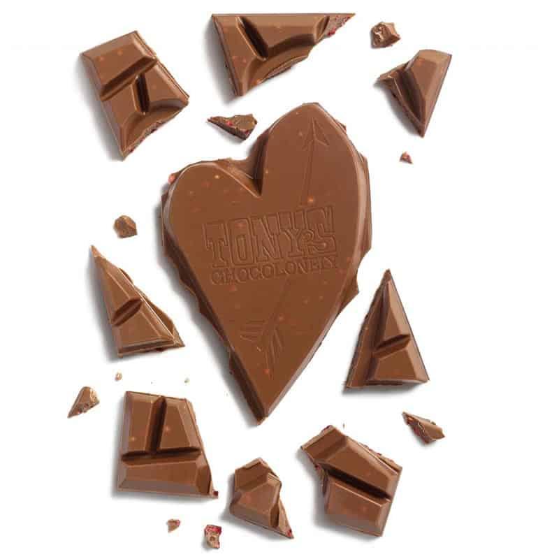 tony's chocolonely nieuwe reep valentijn