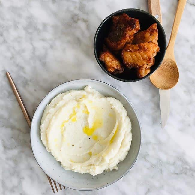 Bloemkoolpuree simpel recept