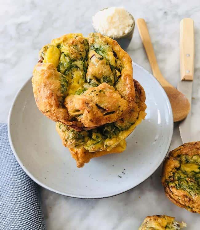Hartige ei muffins simpel recept