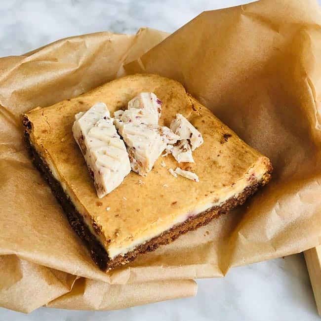 Cheesecake kers met kandij
