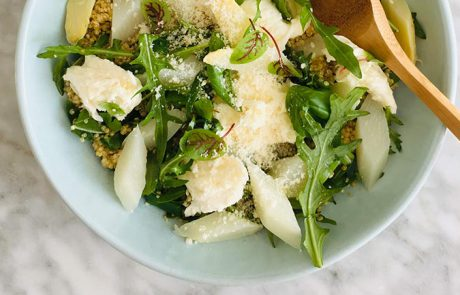 Quinoasalade met asperges recept