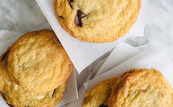 American cookies recept