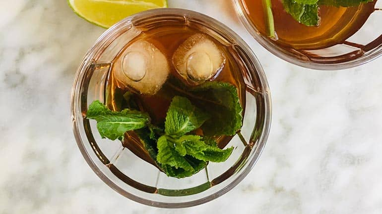Ice tea green maken recept