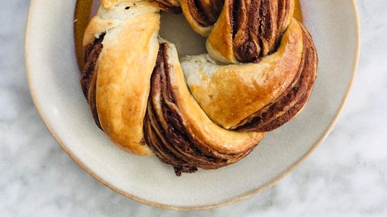 Snelle babka van bladerdeeg recept