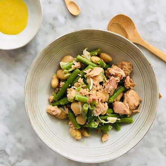 Snelle salade niçoise met limabonen simpel recept