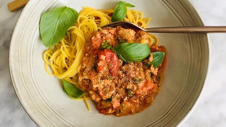Spaghetti bolognese 'n origineel recept