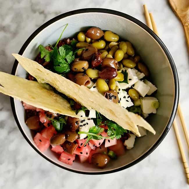 Italiaanse rode rijst salade recept