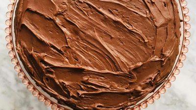 Simpele chocolade taart