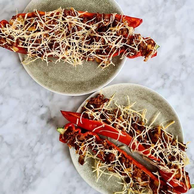 Gevulde paprika met couscous recept