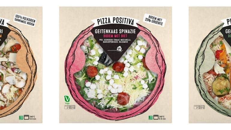 Pizza positiva vegetarische pizza