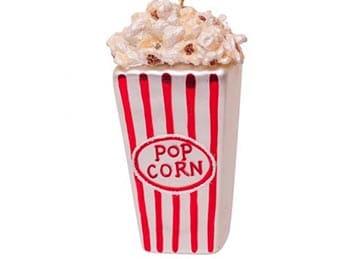Popcorn kerstbal