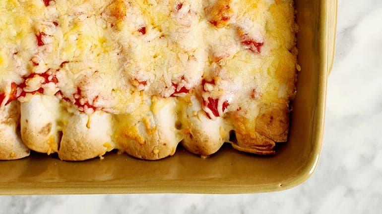 Wraps met gehakt uit de oven maken