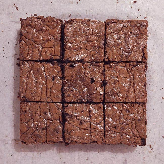 Brownie van bonen