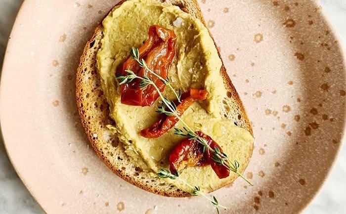 Avocado hummus recept
