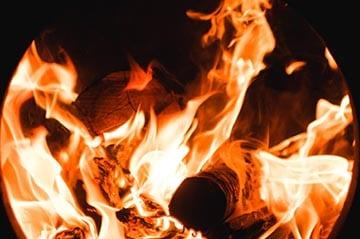 Ceppo branden kerst