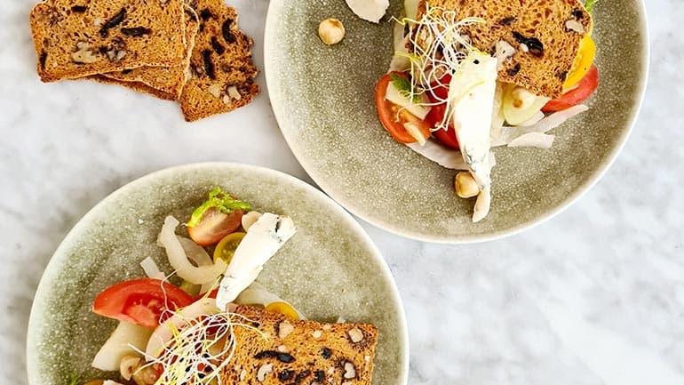 Venkel met Monini en tomaat