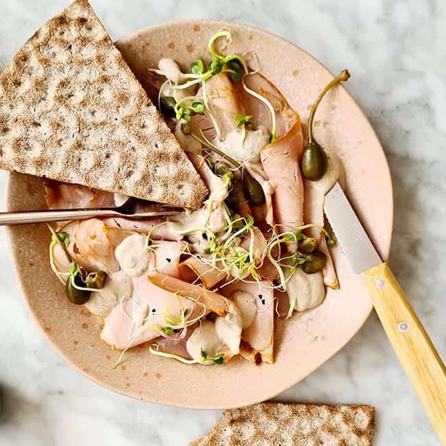 Vitello met tonijnmayonaise