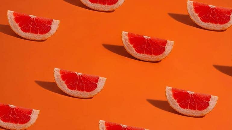 Bloedsinaasappel eten