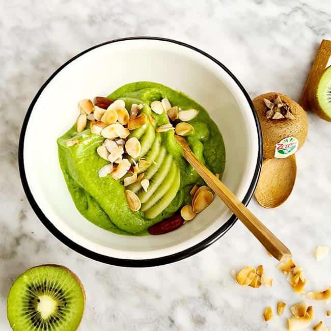 Smoothie met Zespri green kiwi