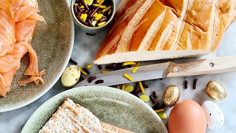 Brioche brood pasen