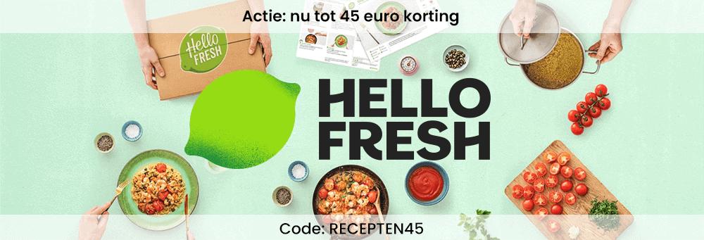 Hellofresh maaltijdbox