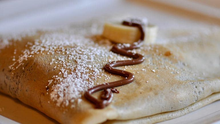 Crepes of galettes