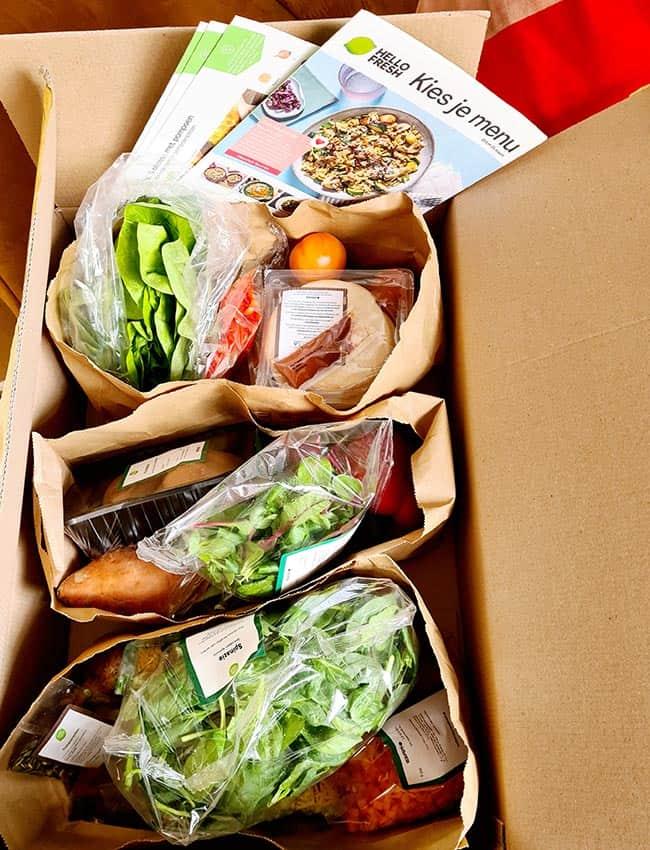 Hello Fresh box bestellen