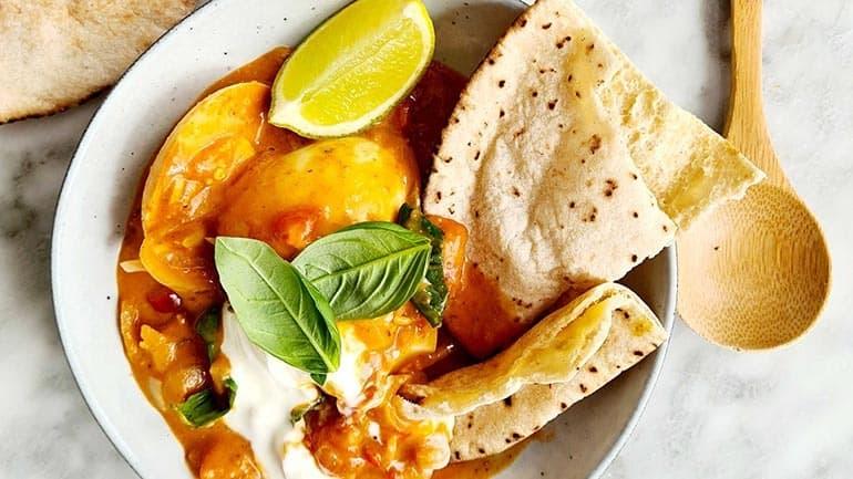 Curry eieren
