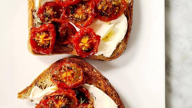 Geroosterde tomaatjes