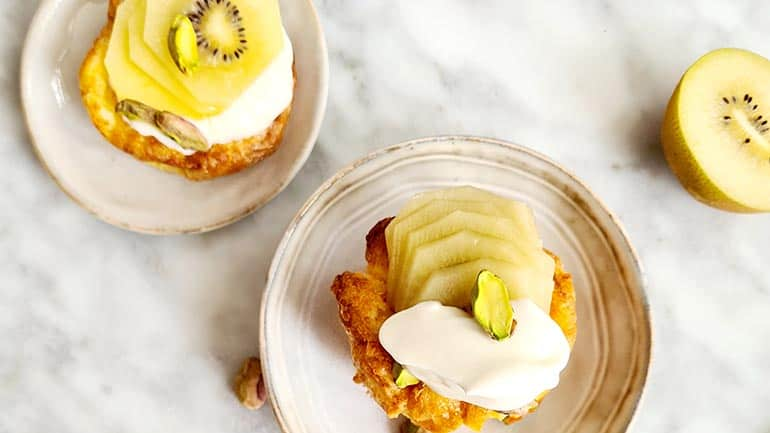 Ontbijtmuffin kiwi