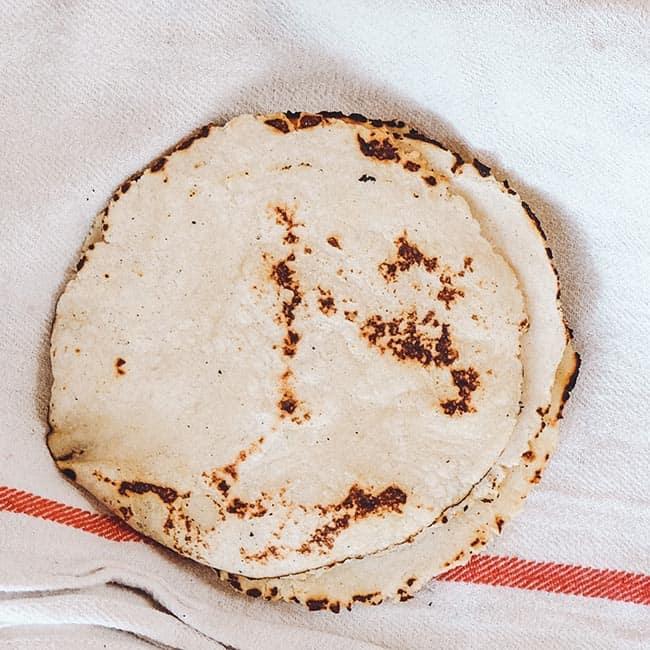 Tortilla wraps voor lunch